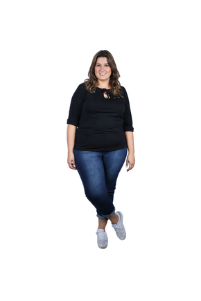 calca curta plus size