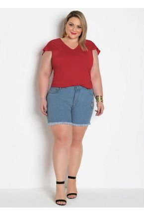 short jeans claro plus size com bordado floral 314877 600 3